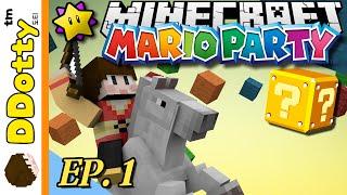 getlinkyoutube.com-좌충우돌!! [마리오파티: 미니게임 #1편] - Mario Party - 마인크래프트 Minecraft [도티]