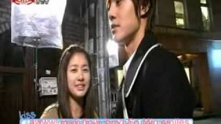 getlinkyoutube.com-MAKING Of Kiss Scenes NG's and Tender Moments *Playful Kiss* [Heart Beat]
