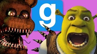 getlinkyoutube.com-Rejected FNAF Animatronics! | Gmod Sandbox Funny Moments