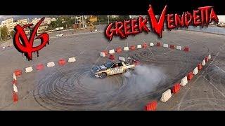 getlinkyoutube.com-Gymkhana 7 City Drift Race - KTM vs SUPRA vs EVO 9 vs ENERGY KART vs KORRES P4: Greek Vendetta