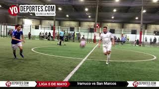 Iramuco vs. San Marcos Liga 5 de Mayo Soccer League