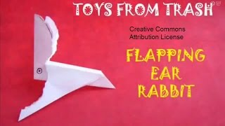 Flapping Ear Rabbit I Nepali I Dynamic Paper Toy