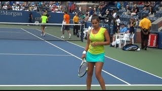 getlinkyoutube.com-Sania Mirza and Colin Fleming US Open 2012 mixed doubles quarterfinal clip