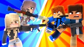 Girls VS Boys | Minecraft UHC Ep.1