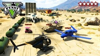 getlinkyoutube.com-GTA 5 Online SANDBOX | GTA Cars, Planes, Tanks, Jumps Stunts | Awesome New GTA SandBox