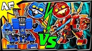 getlinkyoutube.com-JAY vs KAI - Lego Ninjago MECH BATTLE #1 - Ending A