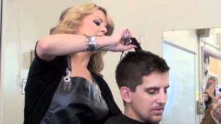 getlinkyoutube.com-CLIPPER HAIRCUT & EYEBROW TRIM (very detailed demo) by Africa Martinez