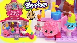 getlinkyoutube.com-Shopkins Kinstructions Fashion Boutique Hair Salon Playset with Season 4  - Video