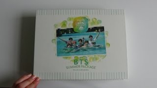 Unboxing BTS (Bangtan Boys) 2015 Summer Package 방탄소년단 in Kota Kinabalu