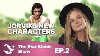 getlinkyoutube.com-Meet Jorvik's New Characters | The Star Stable Show #1.2