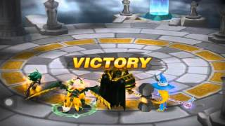 getlinkyoutube.com-Summoners War: Power of Wind Living Armor (Copper) #1 Arena Attacked