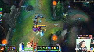 getlinkyoutube.com-[마이콜] 티모: 티모만 보면 풀밟기하는 다리우스 (Teemo vs Darius)
