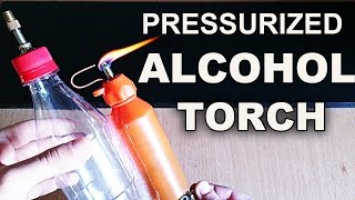 getlinkyoutube.com-Make A Simple Pressurized Alcohol Torch