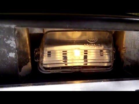 Личный опыт. Распаковка и установка фонарей освещения номерных знаков на автомобиль ...