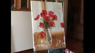 getlinkyoutube.com-Уроки живописи для начинающих, видеоуроки для начинающих
