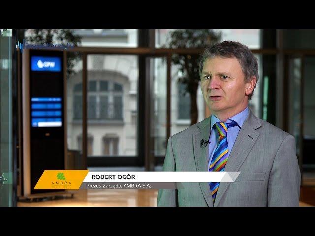 Ambra S.A., Robert Ogór - Prezes Zarządu, #22 PREZENTACJE WYNIKÓW