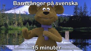 getlinkyoutube.com-Barnsånger på svenska | 15 minuter | Imse vimse spindel med mera