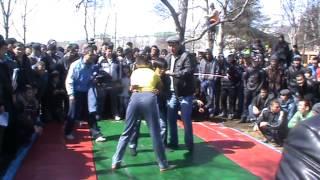 getlinkyoutube.com-Навруз во Владивостоке Кураш узбекский борец.