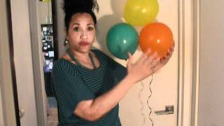getlinkyoutube.com-DIY/Balloons/Cheap Party Decorations!