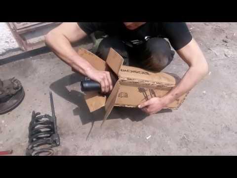 Замена передних амортизаторов VW CADDY