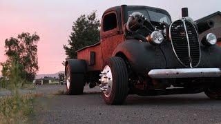 getlinkyoutube.com-Twin Turbo Supercharged 2-Stroke Diesel Ratrod
