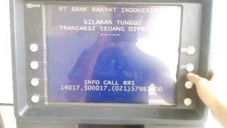 Cara Transfer di ATM BRI