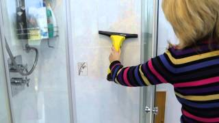 getlinkyoutube.com-Using a Karcher window cleaner to help prevent mould in your bathroom