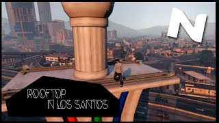 getlinkyoutube.com-Rooftop in Los Santos !