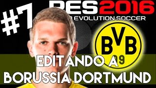 getlinkyoutube.com-PES 2016 | Abilities and face stats of Matthias Ginter | Editando a Borussia Dortmund #7 | PS4.