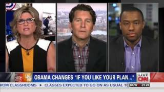 getlinkyoutube.com-Ashleigh Banfield Battles Will Cain Who Calls Obamacare Promises Outright 'Lies' - CNN - 11/5/13