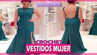 Vestidos Mujer Con Patrones - Tejidos a Crochet