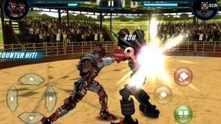 getlinkyoutube.com-Real Steel#2 Twin Cities vs Hollow Jack