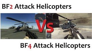 getlinkyoutube.com-BF2 Vs BF4 Attack Helicopters