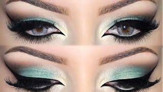 getlinkyoutube.com-♡ Emerald Green ♡ Makeup Tutorial ♡
