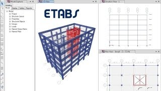 getlinkyoutube.com-ETABS - 03 Introductory Tutorial Concrete: Watch & Learn