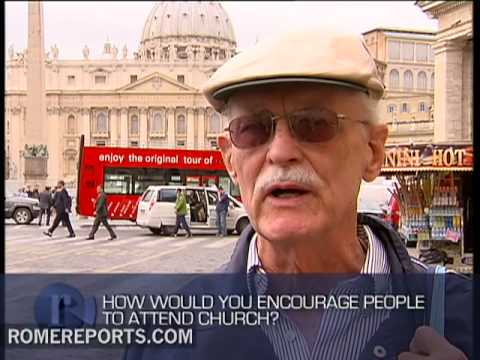 Vox Pop  How would you encourage people to attend church?