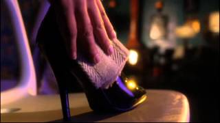 getlinkyoutube.com-Smallville - Erica Durance \ Lois Lane in Stiletto boots, zipping up boots, alot of boot leg shots