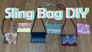 getlinkyoutube.com-Cara Membuat Sling Bag | DIY