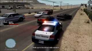 "getlinkyoutube.com-GTA IV LCPDFR State Patrol Ep.1 ""Texas Highway Patrol"""