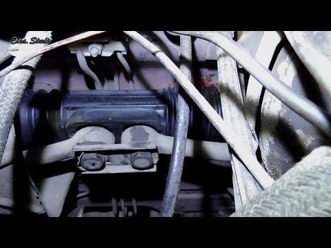 Замена пыльника рулевой рейки ВАЗ 2108