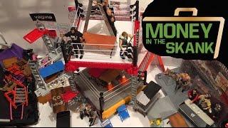 getlinkyoutube.com-GTS WRESTLING: Money in the BANK PPV Event!! WWE Mattel Elite Figure Animation