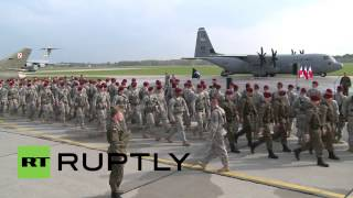 Poland: US troops set boots to Polish soil