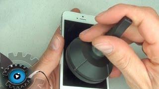 getlinkyoutube.com-iPhone 5 Glas Digitizer Display Wechseln Tauschen Reparieren[German/ Deutsch]Disassembly