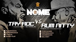 getlinkyoutube.com-TAY ROC VS RUM NITTY SMACK/ URL RAP BATTLE