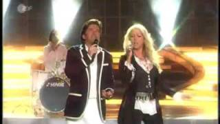 getlinkyoutube.com-Thomas Anders & Sandra - The Night is still young (Live in Carmen Nebel Show ZDF)