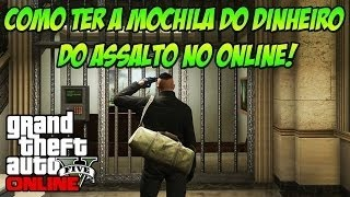 GTA V ONLINE -GLITCH MOCHILA DAS HEISTS  FACIL PS4/XBOXONE/pc 1.37