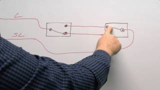 getlinkyoutube.com-Lighting Circuits Part 2 - Wiring Multiple Switches, 2 way and Intermediates