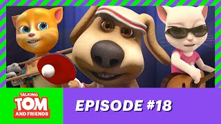 getlinkyoutube.com-Talking Tom and Friends - Ping Pong Wizard (Episode 18)