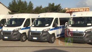 Zone rurali: in consegna 77 minibus per Comuni ed Unione dei Comuni
