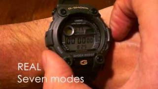 getlinkyoutube.com-G-Shock G-7900 fake vs real